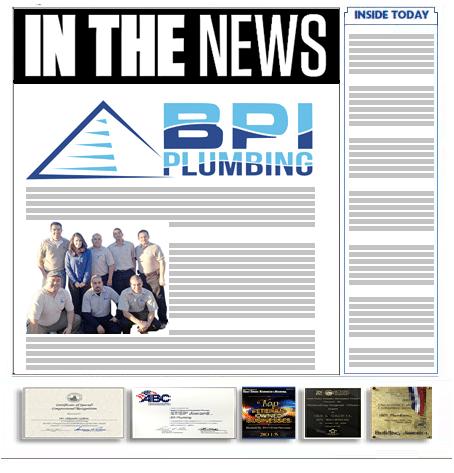 Chula Vista News BPI Plumbing